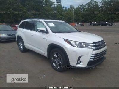 używany Toyota Highlander III Limited Hybrid