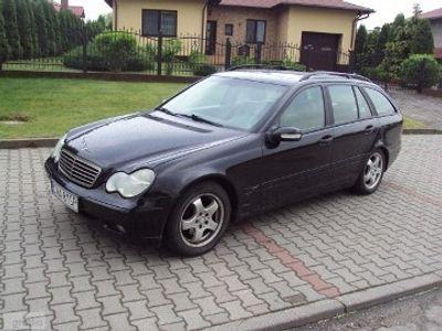 używany Mercedes C220 klasa C 2.2CDI ręczna klima.