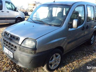 używany Fiat Doblò 2001r 1.9D 5 OSOBOWY