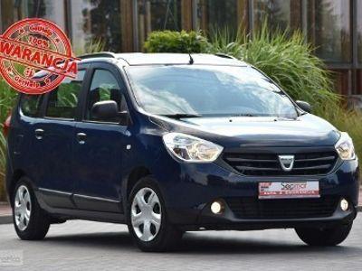 używany Dacia Lodgy 1.6SCe 102KM 2016r. 7os. 74tkm NAVi Polecam