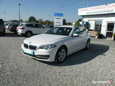 używany BMW 520 2dm3 190KM 2014r. 145 000km 2.0 D F-vat xenon led Automat