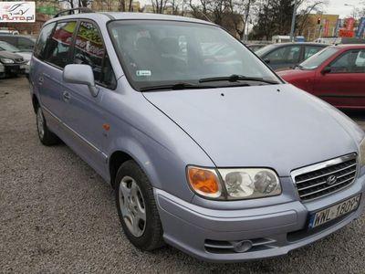 brugt Hyundai Trajet 2dm3 126KM 2003r. 206 000km !!! Bemowo !!! 2.0 Diesel, 2003 rok, !!! 7-OSOBOWY !!! HAK !!!