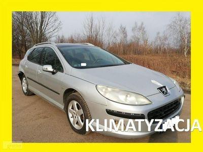brugt Peugeot 407 2.0 D Panorama Klima 6 biegów Alu-felgi