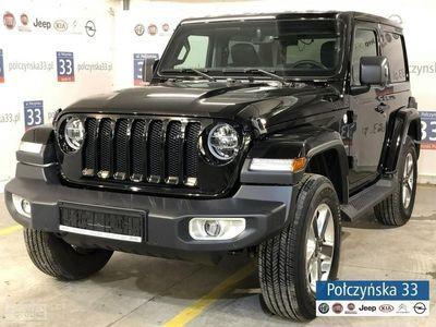 używany Jeep Wrangler 2.2dm3 200KM 2018r. 2km JL Sahara 2.2 200KM Diesel   NOWY MODEL   Czarny / Czarna skóra