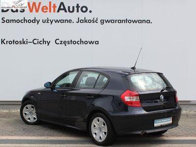 używany BMW 118 118 2dm3 122KM 2006r. 269 641km2.0 D 122 KM 6-G 2006 rok.