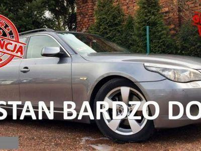 używany BMW 520 520 2dm3 177KM 2008r. 181 000km D LIFT 177PS Xenon PDC Nowy Dwumas Stan BDB 2 lata w kraju Gwar