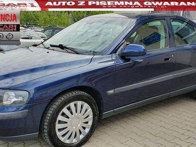 używany Volvo S60 I 2.4 140 KM Benzyna+GAZ półskóry auto z gwarancją