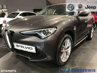 używany Alfa Romeo Stelvio 2dm3 280KM 2019r. 2km Super 2.0 280KM AT8 | Grafitowy VESUVIO / Brązow skóra | Dużo pakietów