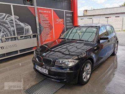 używany BMW 120 SERIA 12008r 177KM 2,0 d zarejestrowany zamiana, Międzyrzecz