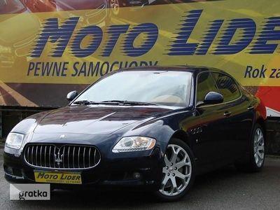 używany Maserati Quattroporte V 4.7 V8 440KM, Niski Przebieg, 2 lata w kraju, 1 właściciel