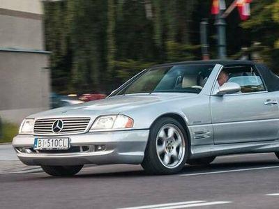 używany Mercedes SL500 R129AMG Silver Arrow