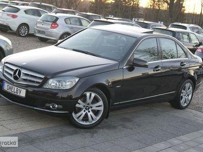 używany Mercedes 200 Klasa C W204 200184KM Klima Navi Chrom 96tyś.km Avangarde Zadbany
