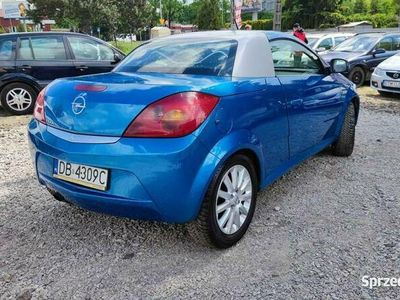 używany Opel Tigra 1.4 benzyna 2004 Cabrio Niski przebieg GWARANCJA