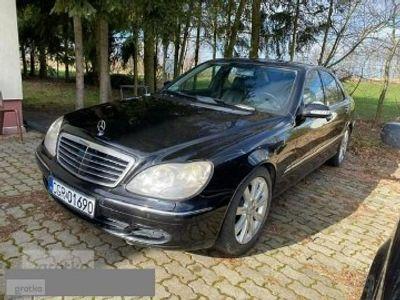używany Mercedes S320 3.2dm 205KM 2003r. 335 000km