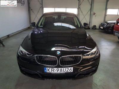 gebraucht BMW 318 seria 3 2.0dm3 150KM 2017r. 20 718km Seria 3 Gran Turismo d Advantage aut
