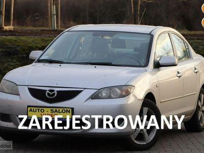 używany Mazda 3 1.6dm 105KM 2004r. 272 000km