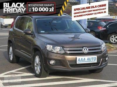 używany VW Tiguan Salon Polska, Serwis ASO, 4X4, Navi, Klimatronic, Tempomat,