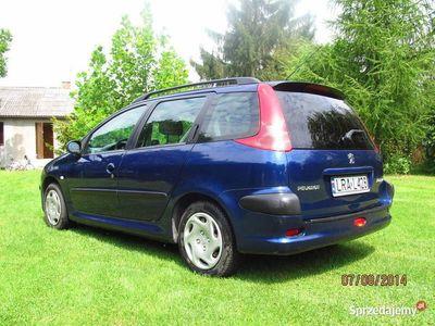 używany Peugeot 206 sw kombi B+G zamiana.