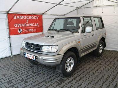 używany Hyundai Galloper 2.5dm 100KM 2001r. 228 000km