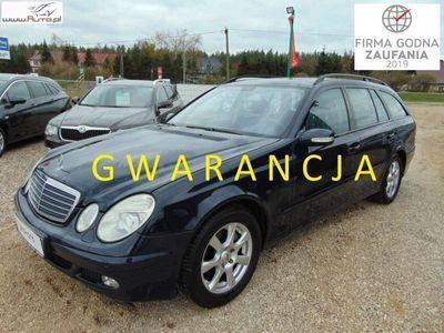 used Mercedes E270 2.7dm3 177KM 2004r. 329 000km Automat Navi