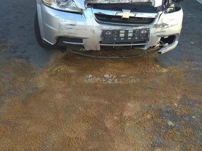 używany Chevrolet Aveo Sedan 2008 po wypadku.