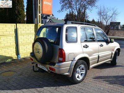 brugt Suzuki Grand Vitara 2dm3 140KM 2005r. 145 650km 2.0i 140KM 4x4 Klimatyzacja OPŁACONY