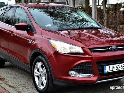 używany Ford Kuga II (ESCAPE) 1.6 EcoBoost 4x4 182 KM - czerwony