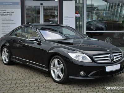 używany Mercedes CL500 5.5dm 388KM 2008r. 119 216km