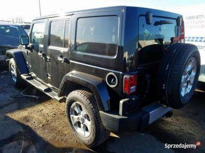 używany Jeep Wrangler Unlimited WranglerSAHARA 3.6 285 KM automat 2014 III (2006-)