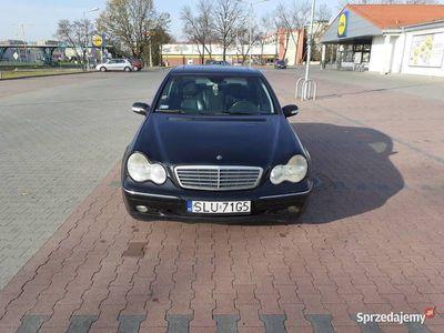 używany Mercedes C200 W203k AVANDGARDE skóry,Klima, lpg ew.zamiana