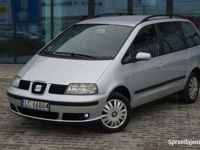używany Seat Alhambra 1.9TDI 130KM, 2005r, 7 osobowy, Serwisowany