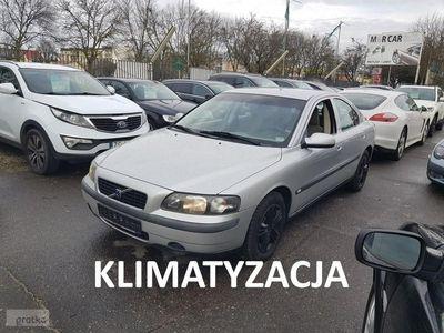 używany Volvo S60 2.4dm3 140KM 2001r. 244 096km 2.4 Benzyna 140 KM, Automat, Klimatyzacja, Hak, Central, zadbany