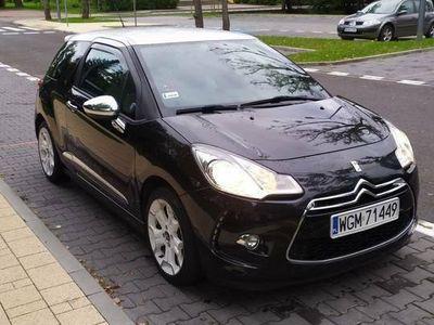 używany Citroën DS3 1.6thp nowy rozrząd Black&White