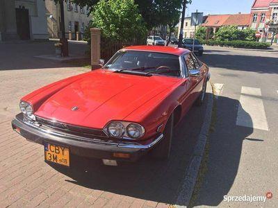 używany Jaguar XJS zabytek, biała karta
