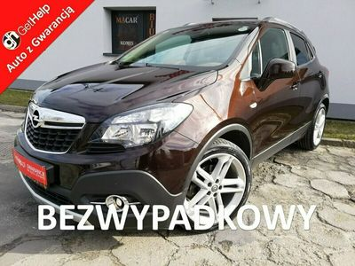 używany Opel Mokka 1.7 cdti 130 KM - skóry grzane - navi - kamera - szyberdach - alu 19 x(2013-)