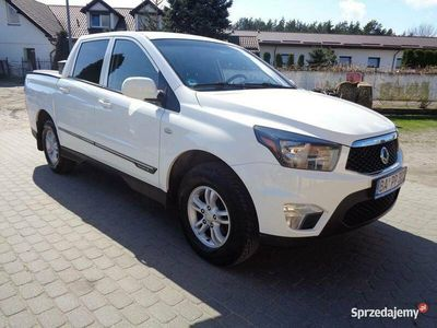 używany Ssangyong Actyon Sports 2.0 d 4X4 Pick-up