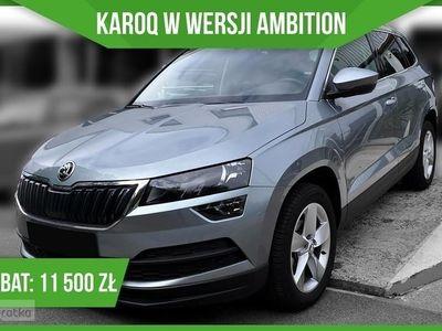 używany Skoda Karoq Ambition 1.6 TDI 115KM 'Ambition' + Czujniki Parkowania + Climatroni