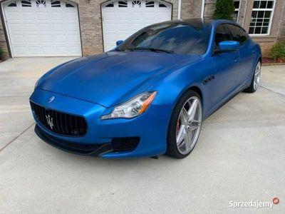 używany Maserati Quattroporte QuattroporteS 3.0l V6 benz. autom. 2014 VI (2013-)