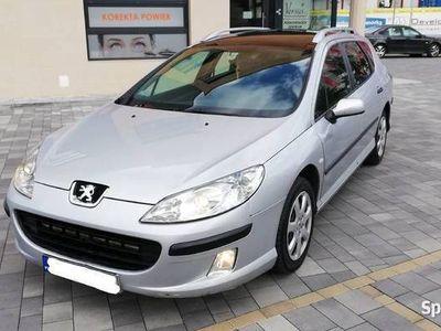 używany Peugeot 407 SW 1,6HDI Panorama JBL eletryka ! Nowe sprzegło