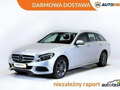 używany Mercedes C180 DARMOWA DOSTAWA, Avantgarde, Półskóra, Navi, Klima auto W205 (2014-)