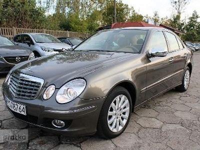 używany Mercedes 220 Klasa E W211ELEGANCE Navi Klima Skóra Zarejestrowany