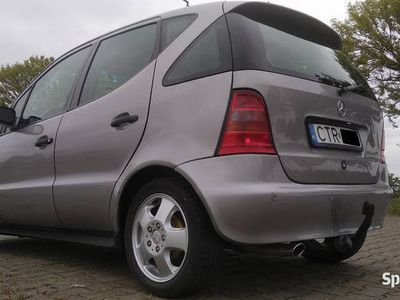 używany Mercedes A140 benzyna gaz eko 1,4 Avantgarde