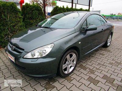 używany Peugeot 307 CC 307 I 2.0 16v 136KM- KABRIOLET, gwarancja, skóra, grzane fotele