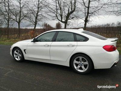 używany BMW 428 F36 serii 4 gran coupe 2015r Alpinweiss i