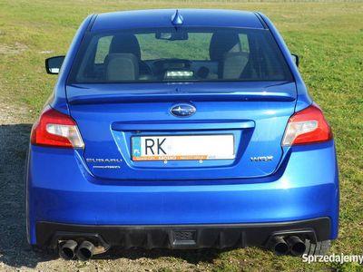 używany Subaru WRX wersja LIMITED 2015r 268KM 82 tys km, 4x4 AWD