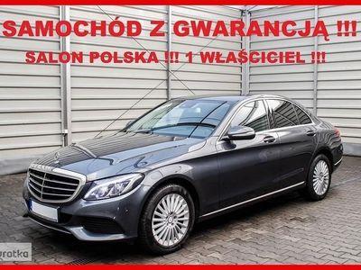 używany Mercedes 180 Klasa C W205AUTOMAT + AMG Dynamic + Salon PL + 1 WŁ. + 100% Serwis MERCEDES