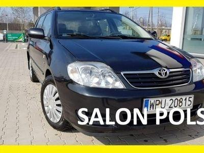 used Toyota Corolla IX 1.4 D Klimatyzacja Salon PL rej 2007r