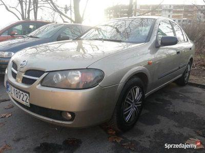 używany Nissan Almera 2003r, auto z Polskiego Salonu