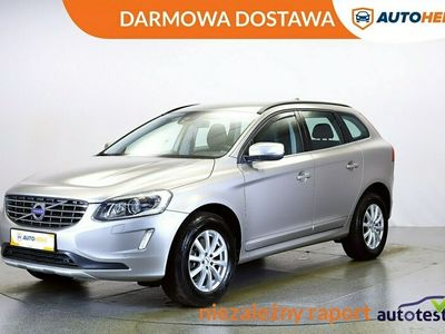 używany Volvo XC60 DARMOWA DOSTAWA 4x4, Led, Klima auto. Navi. Półskóra, 1 wł. Hist serw. I (2008-2017)