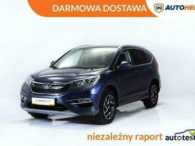 używany Honda CR-V DARMOWA DOSTAWA, Kam cofania, Klima auto, Serwis ASO, I właściciel IV (2012-)